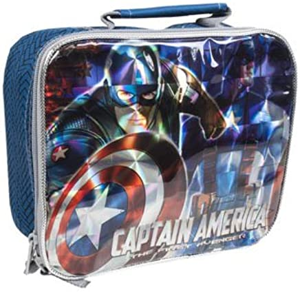 Amazon.com: The Avengers Captain America Lunchbox Insulated Lunch Bag: Toys & Games