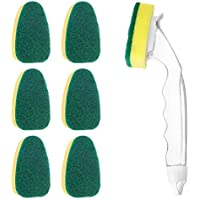 Outerdo Dishwashing Kitchen Room Sponge and 7 Refill Replacement Heads