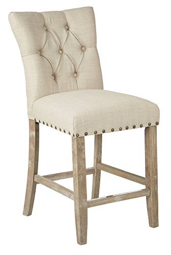 OSP Home Furnishings Preston Fabric Seat and Tufted Back 24