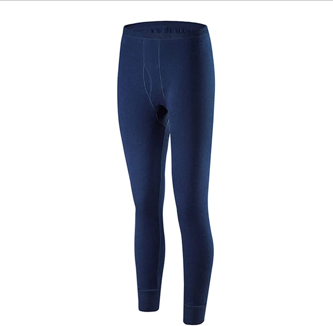 Wenaca Men's Ultra Soft Thermal Underwear Bottom Tight Long Leggings