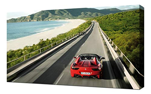 2013-Ferrari-458-Spider-V13-1080 - Lienzo Decorativo para Pared
