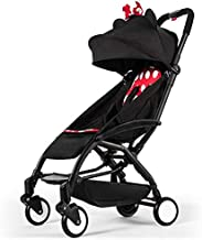 Baby Rest Baby Stroller, Can Sit Lie Baby Doll Stroller, Portable Shock Absorber Baby Trend Jogging Stroller for Children Baby Newborn Baby Baby car (Color : 2)