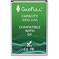 GadFull Batería de reemplazo para LG G4 | Corresponde al Original BL-51YF | Compatible con LG G4 | G4 Dual Sim | G4 Stylus | H815 | H818P | H635