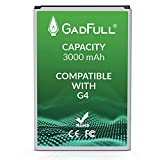 GadFull Battery Compatible with LG G4 | 2019 Production Date | Corresponds to The Original BL-51YF | Compatible with LG G4 | G4 Dual Sim | G4 Stylus | H815 | H818P | H635