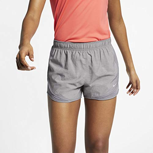 Nike Women's Tempo Running Shorts (Gunsmoke/Gunsmoke/Gunsmoke/Wolf Grey, Medium 3)