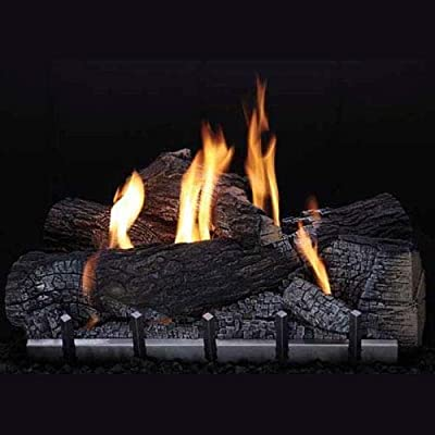 Empire Outdoor Wildwood 7 Pieces 24'' Refractory Log Set- LOGS ONLY