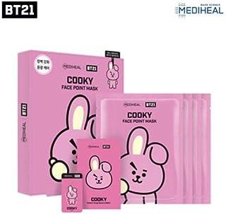 BTS X Mediheal BT21 Face Point Mask Sheet + Postcard + Bookmark