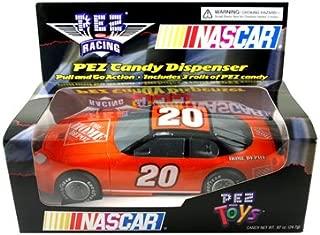 Pez Candy Dispenser Nascar Race Car Orange #20 Tony Stewart