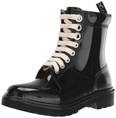 Sergio Rossi Winter Jelly Rain Boot, Black, 39 Medium EU (39,9 US)