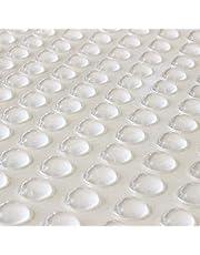 Eastbuy Rubberen voetjes, 100 stuks, halve cirkel, zelfklevend, siliconen voetjes, bumpers, deurbeslag, pad (8 x 2,5 mm)