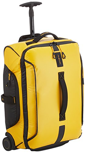 Samsonite Paradiver Light Borsa con Ruote Unisex  Giallo  Yellow    55cm 48.5L