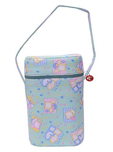 GURU KRIPA BABY PRODUCTS Presents Portable Infant Feeding Milk Food Bottle Thermal Warmer Bag Storage Holder Only for Slim Shape Bottle