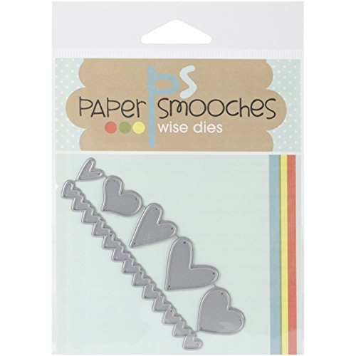 Paper Smooches Hearts Die