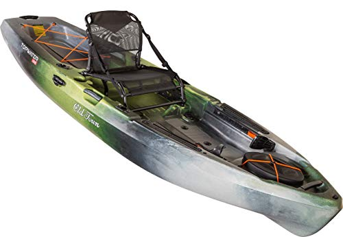 Old Town Canoes & Kayaks Topwater 106 Angler Fishing Kayak (First Light, 10 Feet 6 Inches)