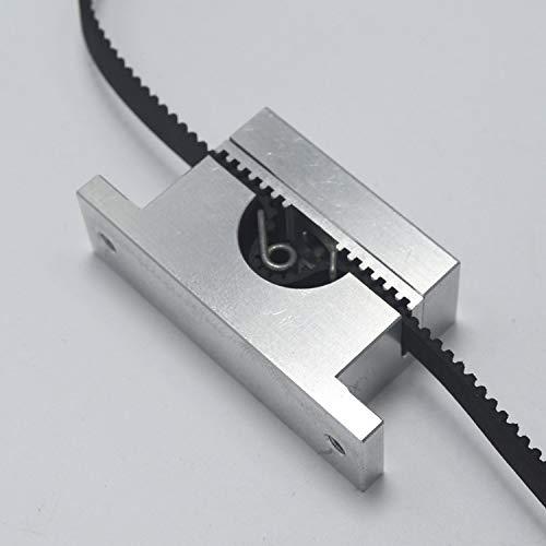 WNJ-TOOL, 1set Reprap Mendel Prusa I3 Metallo ASSE Y Timing Holder Tendicinghia