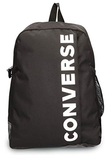 Converse Speed 2 Backpack Zaino Unisex Adulto, Unisex - Adulto, Zaino, 10018262-A02, Nero , 1.4l