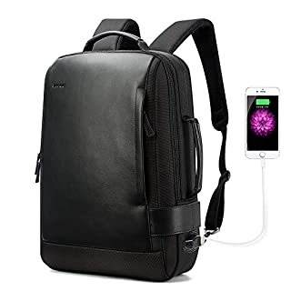 BOPAI Business 15.6 inch Laptop Backpack Convertible Increase Compartment Anti-Theft Laptop Rucksack USB Charging and Water Resistant College Multi-Functional Travel Men Backpack Black (B0765L6CB5)   Amazon price tracker / tracking, Amazon price history charts, Amazon price watches, Amazon price drop alerts