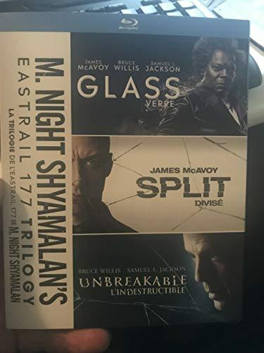 M Night Shyamalan's EASTRAIL 177 TRILOGY Glass/Split/Unbreakable BLU-RAY SET