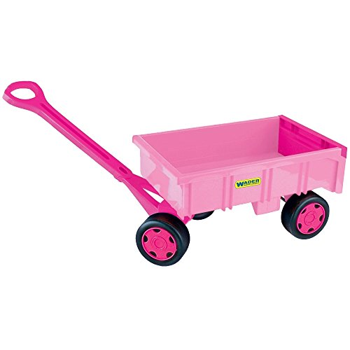 Wader 10958 - Handwagen mit Lenkung für Mädchen