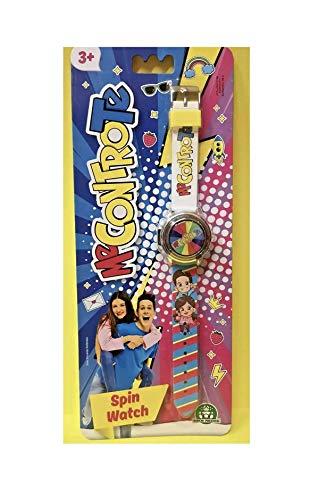 Me Contro Te Spin Armbanduhr für Kinder, digital, mit Schlüsselanhänger, mit farbigem Stift und Lesezeichen