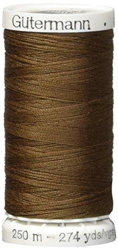 Gutermann 250P-551 Sew-All Thread, 273-Yard, Cocoa