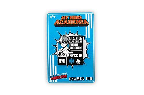 My Hero Academia Shoto Todoroki Pin   Exclusive My Hero Academia Collectible Profile Pin   Measures 2 Inches