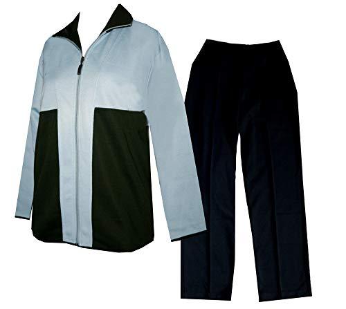 Schneider Sportswear DESS Jersey Damen Trainingsanzug, Hausanzug, Sport-Fitness (40, blau/schwarz)