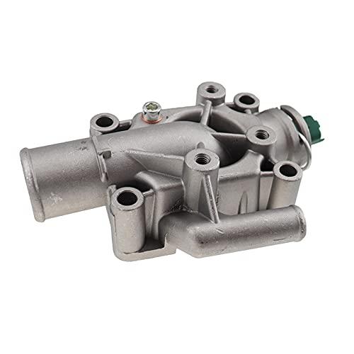 LUJING Termostato de refrigerante del motor de aluminio con ajuste de la carcasa para PEUGEOT Partner 206/207/307/308/1007 para Citroen C2 C3 C4 1336.Z0,1336Z0