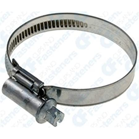 """Stainless Steel Hose Clips 60MM x 10 80MM 2 3//4/"""" - 3 1//8/"""""""