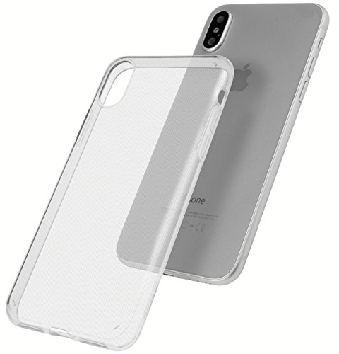 mumbi Hülle kompatibel mit iPhone SE 2 2020 / 7 / 8 Handy Case Handyhülle UV beständig Slim dünn, transparent
