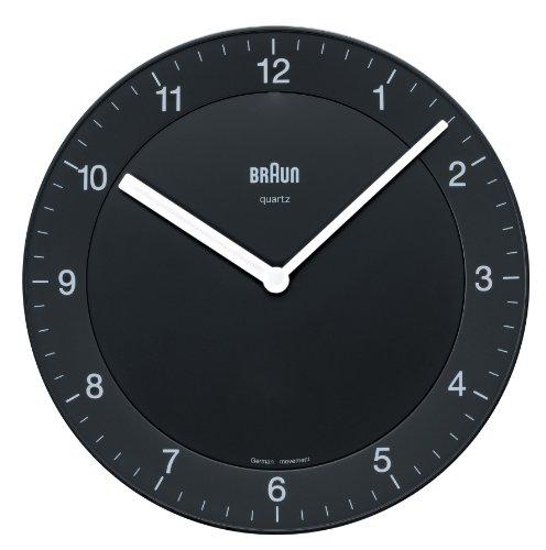 【正規輸入品】 BRAUN(ブラウン) 壁掛け時計 BNC006BKBK