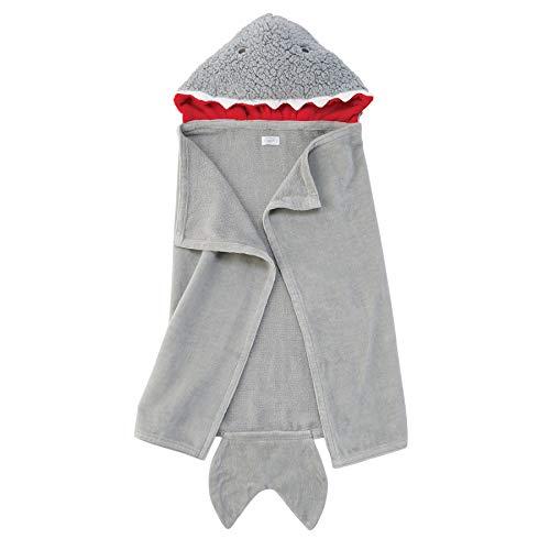 Mud Pie Baby Shark Hooded Towel