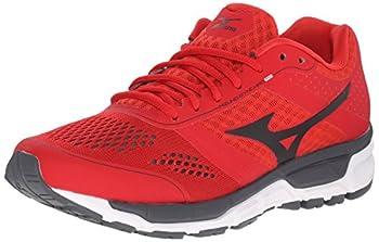 Mizuno Men s Synchro MX Running Shoe Chinese Red/Black 8 D US