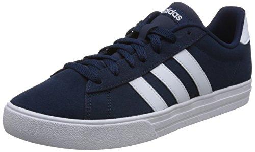 adidas Herren Daily 2.0 Fitnessschuhe, Blau (Maruni/Ftwbla 000), 44 2/3 EU
