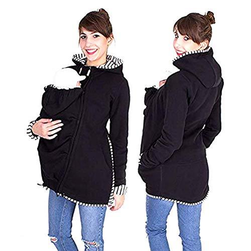 AIBAB Multifunktion Känguru-Mutter Sweatshirt Herbst Und Winter Kindertasche Baby Schlafsack