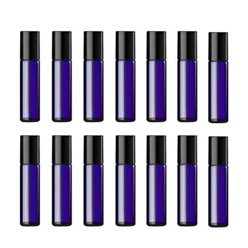 Artibetter 24Pcs 5Ml Botella Roll-On Botella Recargable de Aceite Esencial con Bolas de