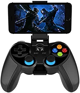 Wireless Bluetooth Game Controller for Android Phone Tablet, Smart TV, TV Box Gamepad + Joystick + Phone Holder Gamepad Tr...