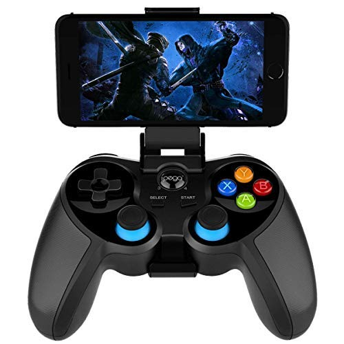 Controller di Gioco Wireless Bluetooth Per Tablet Android, Smart TV, TV Box Gamepad + Joystick + Supporto Per Telefono Controller PUBG Gamepad Trigger