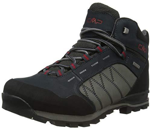 CMP Thiamat Mid Trekking Shoe WP, Scarpa da Passeggio Uomo, Antracite, 39 EU