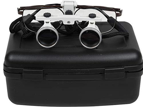 Gima 30898 Occhiali Ingrandenti Binoculari, Linea Tradizionale, Ingrandimento 3.5X, Distanza di...