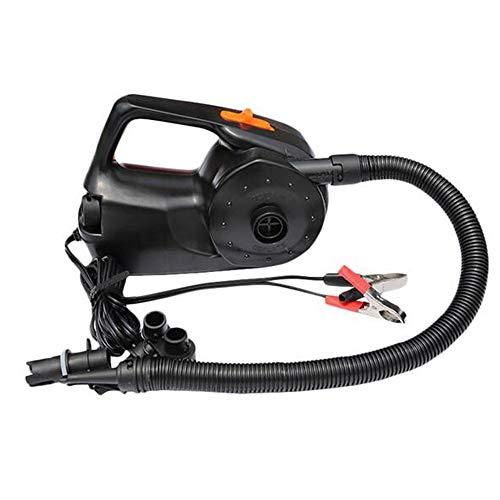 MEIGONGJU 12V 100W Auto Rechargable Pumpe Elektrische aufblasbare Luftpumpe für Kajak-Boot Luftkissen-Kugel