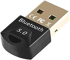 EasyULT Adaptador USB de Bluetooth 5.0, Bluetooth USB Dongle Transmisor y Receptor para PC con Windows...