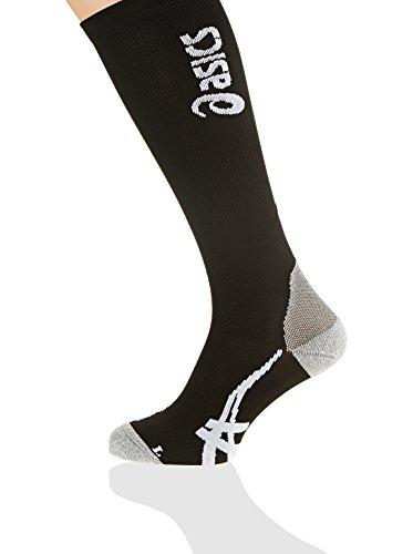 ASICS Sport - Calcetines de Running para Hombre, tamaño XL, Color Negro