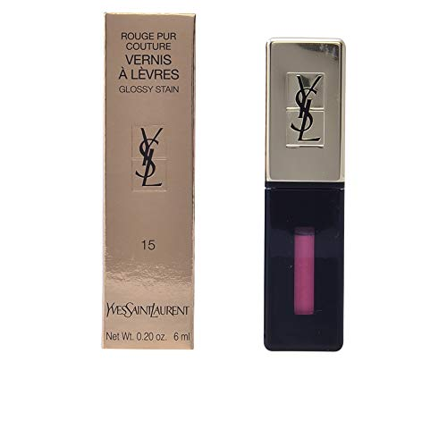 Yves Saint Laurent Rouge Pur Couture Vernis à Lèvres 15 Rose Vinyl 1 St