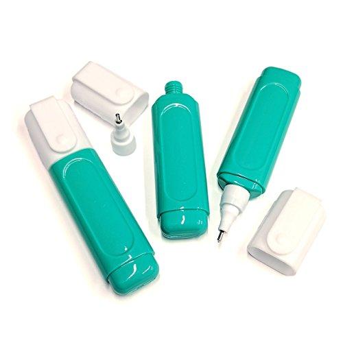 修正液/修正ペン 空ボトル容器 3個セット Correction pen Empty bottle 15ml Metal tip marker