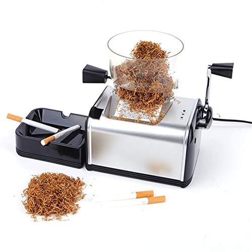 ZDYLM-Y Maquina Liadora de Tabaco Electrica, Mini automático Máquina para Rellenar Cigarrillo con tolva de Tabaco, para Tabaco seco Cortado