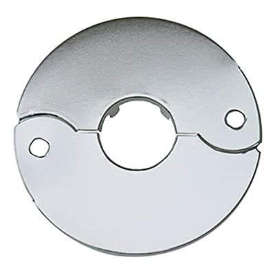 LASCO Chrome Plated Floor and Ceiling Split Flange Fits Iron Pipe