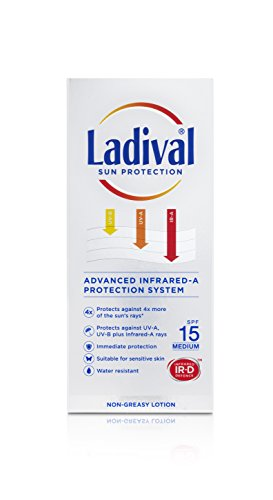 Ladival SPF 15 Sun Protection Lotion, 200 ml by Ladival