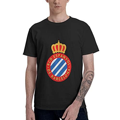 RCD Espanyol - Camiseta de manga corta para hombre