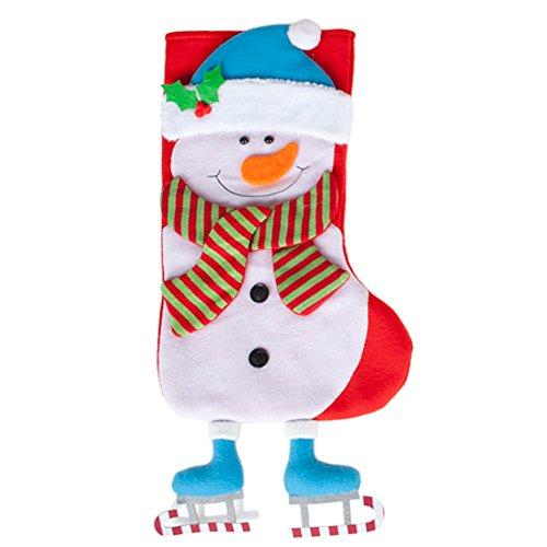 Gigante rosso padre Natale Santa Sack - 60 x 80cm calza grande borsa per regali & regali